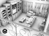 مدل سازی اشیای داخل خانه در تری دی مکس برای پروژه های معماری